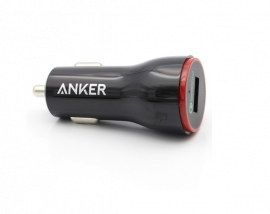 ANKER PowerDrive+ 1, 24W, QC 2.0 Car Charger - Black