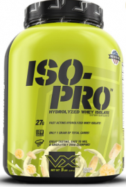 VITAXTRONG ISO-PRO 100% Hydrolyzed Why Isolate - Banana Swirl, 5lb