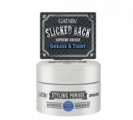 GASBY Styling Pomade Supreme Grease - 30g