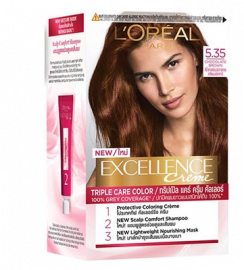 LOREAL Excellence Creme Triple Care Color - Chocolate Brown