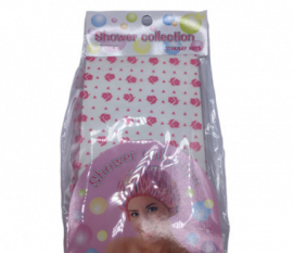 SHOWER COLLECTION Shower Cap - Pink