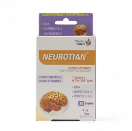 VITANE'S NATURE Neurotian with Attention Factors to Improve Memory 30 Caplets