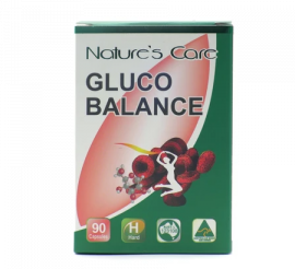 NATURAL'S CARE Gluco Balance - 90 Capsules