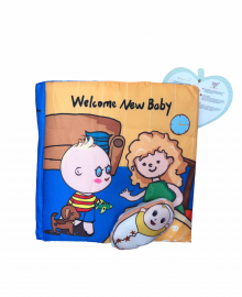 CLOTH BOOK Welcome New Baby