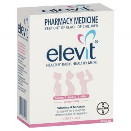 ELEVIT Pregnancy Multivitamin - 100 Tablets