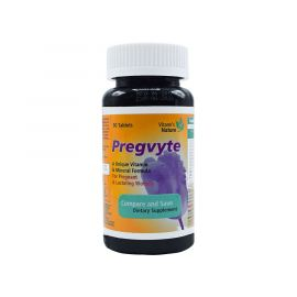 VITANE'S NATURE Pregvyte Unique Vitamin and Mineral Formula for Pregnant and Lactating Women 30 Tablets