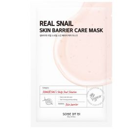 SOME BY MI Real Snail Skin Barrier Care Mask (ម៉ាសបិតមុខ) - 1 Sheet