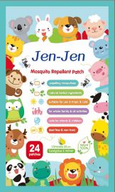 JENJEN Anti-mosquito Repellent Patch - 24 Animal Patches