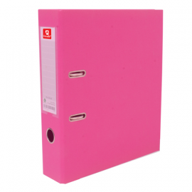 GIRAFFE Size Fc, Back Spine (mm) 75 Mm, Product Size (w X L) 283 X 350 Mm, Lever Arch File Fc Size GR-LA112, Pink