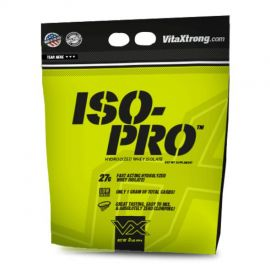 VITAXTRONG ISO-PRO 100% Hydrolyzed Why Isolate - Strawberry, 8lb
