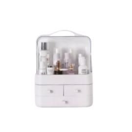 OZOOPU Cosmetic Storage Box (ប្រអប់ដាក់គ្រឿងសំអាង) With Built-In Drawers