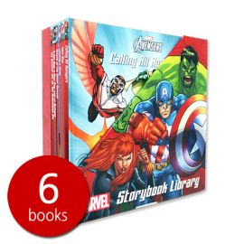 Marvel Superheroes Storybook Library - 6 Books