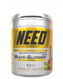 NEED BCAAS and Glutamine Tropical Fruits Smoothie - 30 Servings