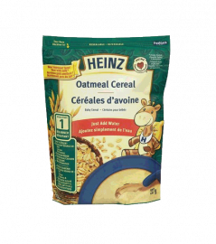 HEINZE Baby Barly And Oatmeal Cereal With Milk #1