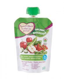 PARENT'S CHOICE Organic Baby Juice - Apple, Strawberry, & Veggie 128ml