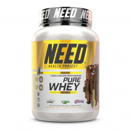 NEED Pure Whey Protein Powder Mix Brownie and Melted Chocolate - 2.2lbs