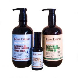 KESAR L'AMORE Shampoo and Conditioner Big Set with Essence Oil - 500ml & 50ml