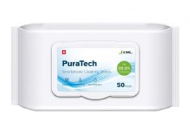 JCPAL Puratech Smartphone Cleaning Wipes 75% Alcohol 50 Wipes