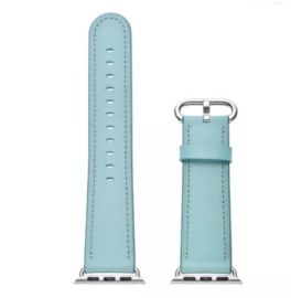 JINYA Fresh Leather Band for Apple Watch 38mm, 40mm - Blue
