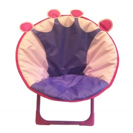 ENTHANOO Baby Soft Seating Chair - Pink Crown