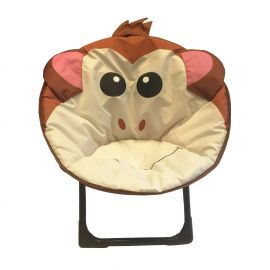 ENTHANOO Baby Soft Seating Chair - Brown Monkey