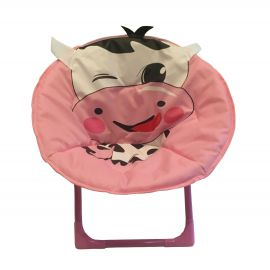 ENTHANOO Baby Soft Seating Chair - Pink Moo