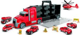 JIN JIA TOYS  Container Truck Carry  (small Head) Fire