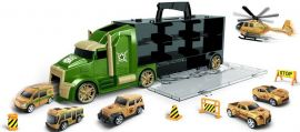 JIN JIA TOYS Container Truck Carry (Small Head) Police