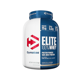 DYMATIZE Elite Whey 5Lbs Cookie and Cream
