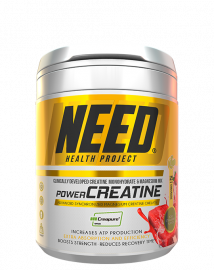 NEED Power Creatine Iced Strawberry - 125 Servings